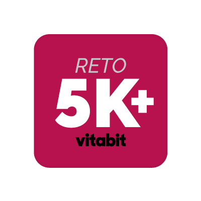 Reto 5K y plan nutricional mensual